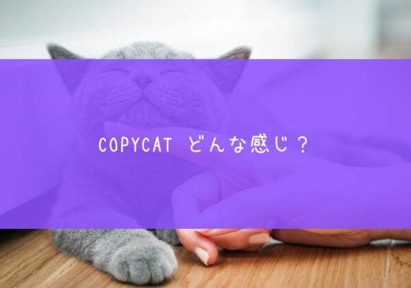COPYCAT ステーキング」